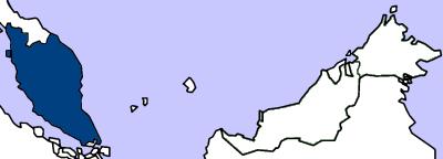 Location of Malaysia