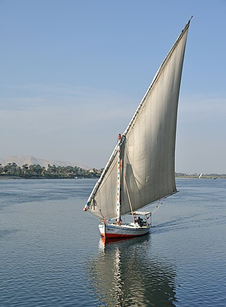 Felucca - Felucca on the Nile at Luxor