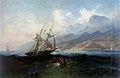 Ferdinand Bellermann - Ansicht von La Guaira vom Meer aus (1842-45).jpg
