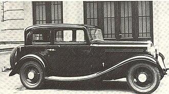 Fiat 522 - Image: Fiat 522 S Sport Sedan 1932