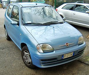 Fiat Seicento - Fiat 600, model year 2008