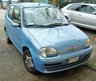 Fiat Seicento - Fiat 600, model year 2008