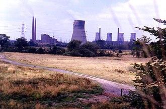 Hams Hall - Hams Hall Power Station, 1984