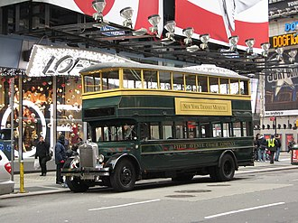Yellow Coach Manufacturing Company - A restored Yellow Coach Model Z built for the Fifth Avenue Coach Co.