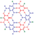 Fig 1. An example of supramolecular polymers with quadruple hydrogen bonds.png