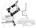Fig 157, castello di Fenis, particolare della torre d'ingresso, 1936, disegno Nigra.tiff