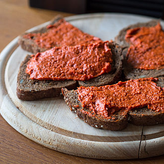 Steak tartare - Filet américain is often eaten as a spread in the Netherlands and Belgium