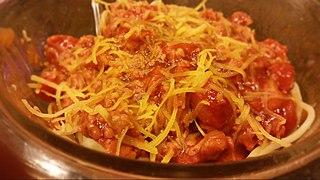 Filipino adaptation of Italian spaghetti