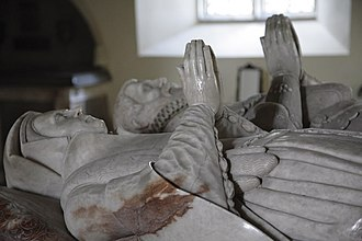 Gerard Johnson the elder - Tomb of Sir John Gage and his wife Philippa in Church of St Michael Firle