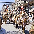 First Nations riders at the Calgary Stampede Parade (34939016764).jpg
