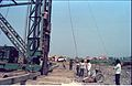 First Piling - Convention Centre Complex Under Constrution - Science City Site - Calcutta 1994-01-29 427.JPG