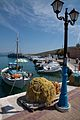 Fishing boat and nets at Megalochori, Agkistri Island, Greece.jpg