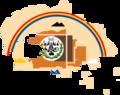 Flag map of the Navajo Nation (Naabeehó Bináhásdzo).png