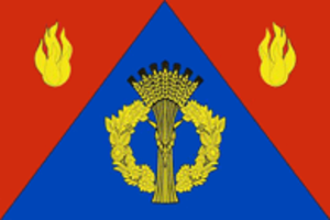 Frolovsky District - Image: Flag of Frolovsky district 2007 (official) 01