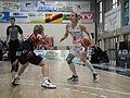 Flammes Carolo basket vs Bourges CJM basket (7 avril 2012).JPG