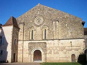 Flaran Abbey Church, Valence-sur-Baïse, Gers, France.JPG