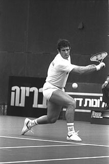 Shlomo Glickstein Israeli tennis player