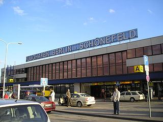 Schönefeld in 2008