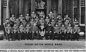 Foden's Band - Fodens Motor Works Band c. 1938