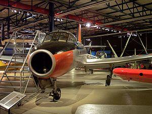 Fokker S.14 Machtrainer - Machtrainer engine air inlet