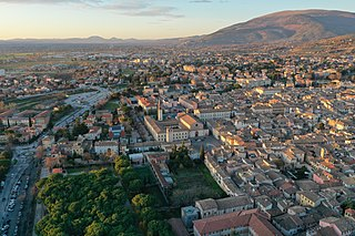 Foligno Comune in Umbria, Italy