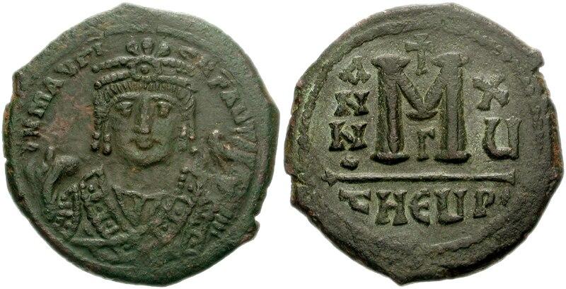 Follis Maurice Constantinople