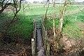 Footbridge across an unnamed stream, Woodland Farm - geograph.org.uk - 1274804.jpg