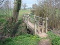 Footbridge on the Daffodil Way - geograph.org.uk - 768718.jpg