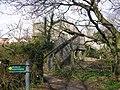 Footbridge over Railway, Wokingham - geograph.org.uk - 1219289.jpg