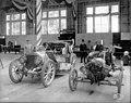 Ford Model T car no 2 and the Shawmut car on display, Alaska Yukon Pacific Exposition, Seattle, Washington, June 1909 (AYP 25).jpeg