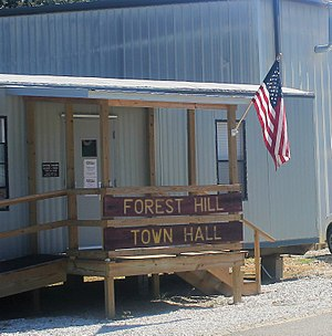 Forest Hill, Louisiana - Forest Hill Town Hall
