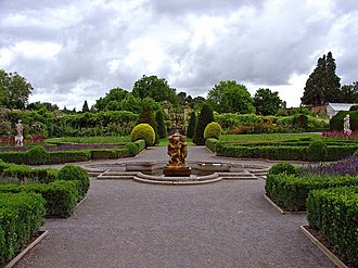 St Fagans - Image: Formal Garden, St Fagan's Castle geograph.org.uk 908510