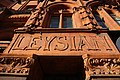 Former Leysian Mission (close-up of left side of main entrance).jpg