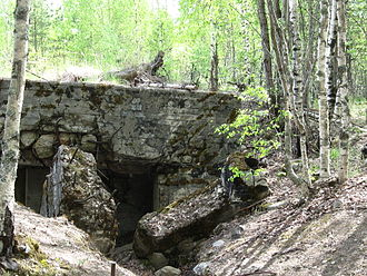 Mannerheim Line - A bunker on high ground 65 (2009)