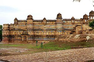Hemu - Gwalior Fort, the base for many of Hemu's campaigns.