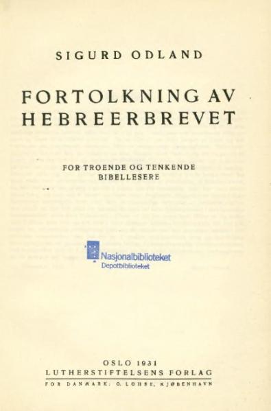 File:Fortolkning av Hebreerbrevet.djvu
