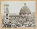Fotografi av Santa Maria del Fiore i Florens - Hallwylska museet - 102998.tif