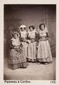 Fotografi av fyra kvinnor - Hallwylska museet - 103094.tif
