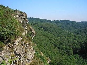 Rock of Oëtre - Image: France Normandie St Philbert Sur Orne Roche D Oetre