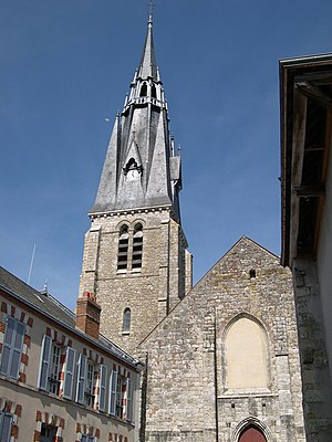 Beaune-la-Rolande - Church of Saint Martin