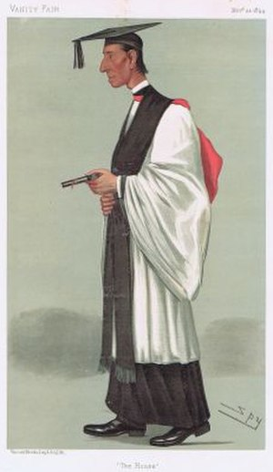 "Francis Paget - ""The House"" Paget as caricatured by Spy (Leslie Ward) in Vanity Fair, November 1894"