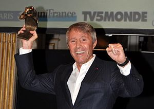 17th Lumières Awards - Francis Veber, recipient of the Honorary Lumières Award.