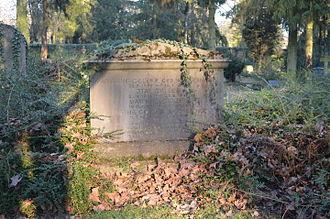 Matthias Gelzer - Gravesite of Matthias Gelzer at the Hauptfriedhof Frankfurt.
