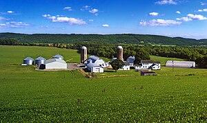 Franklin Township, Warren County, New Jersey - A Franklin Township farm