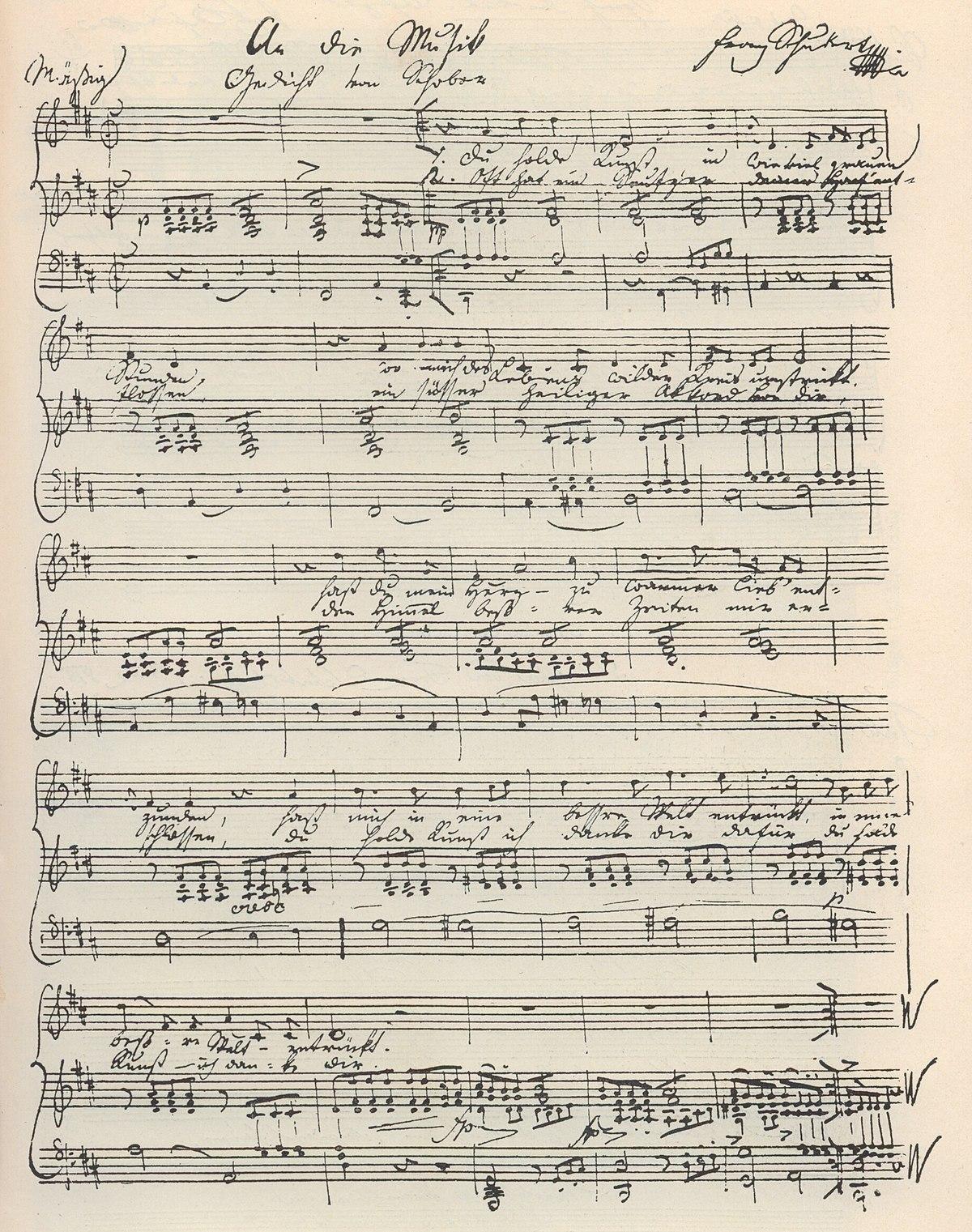 an die musik - wikipedia  wikipedia