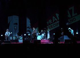 Franz ferdinand nalka konser ning prague, 2006
