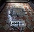 Frari (Venice) Cappella dei milanesi- tomb of Claudio Monteverdi.jpg