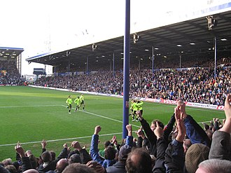 Fratton Park - The North Stand as seen in a match v Chelsea, February 2008