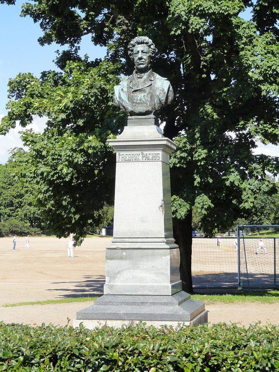Fredrik Pacius by Emil Wikström - Helsinki - DSC03442