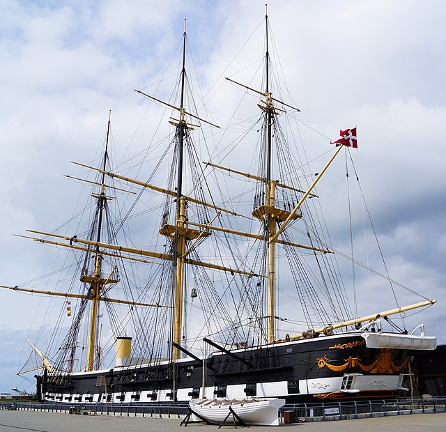 Danish steam frigate Jylland_2